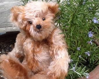 Carmel, a limited edition mohair collector's bear
