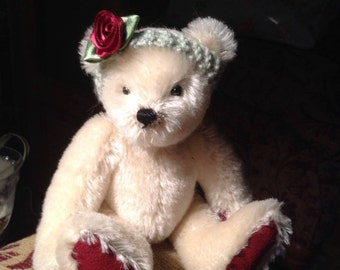 """Rosa, a 7"""" limited edition hand made collectors' bear"""