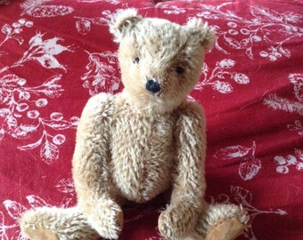 """Frumble, a 6.5"""" limited edition hand made collector's mohair bear"""