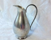 Vintage Royal Holland Pewter Pitcher Creamer KMD Tiel Mid Century Farm House Vintage Kitchen Decor Small Pitcher