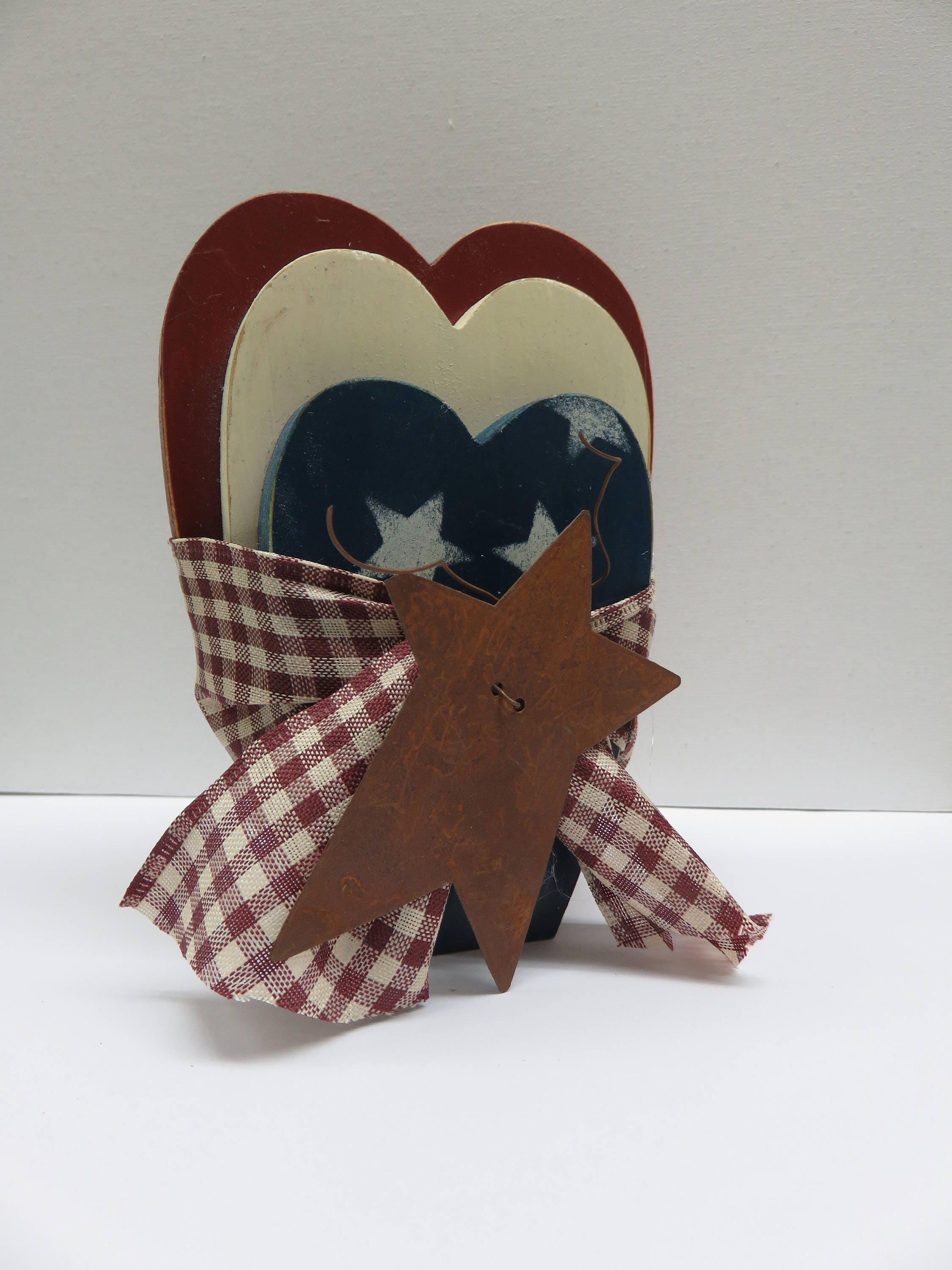 Americana Trio of Hearts Country Style Set - product image