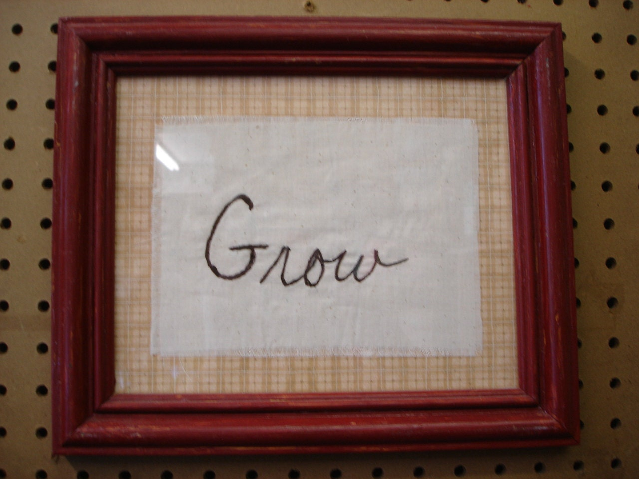 Inspiring,Phrases,Hand,Stitched,Grow,Framed,Housewares,Home_Decor,home_decor,phrase,hand_stitch,inspiring,inspire,frame,framed_phrase,for_your_home,wall_decor,gift,houseware,reclaimed,grow,wood,paper,fabric