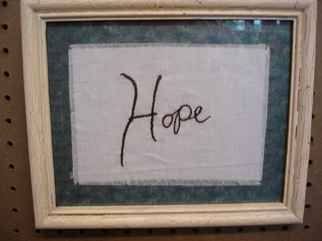 Inspiring,Phrases,Hope,Hand,Stitched,Wall,Decor,Framed,Housewares,Home_Decor,home_decor,phrase,hand_stitch,inspiring,inspire,frame,framed_phrase,for_your_home,wall_decor,gift,houseware,reclaimed,wood,paper,fabric