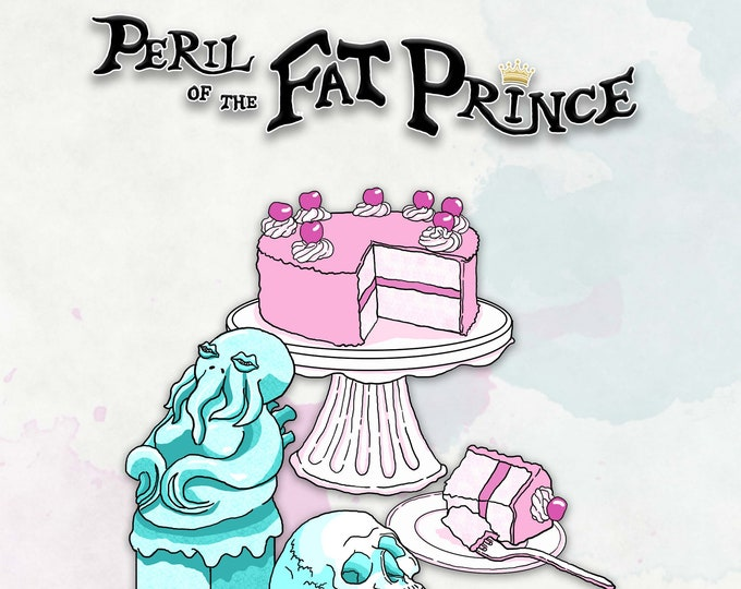 Peril of the Fat Prince  - D&D 5e Tabletop RPG Adventure - Dungeons and Dragons