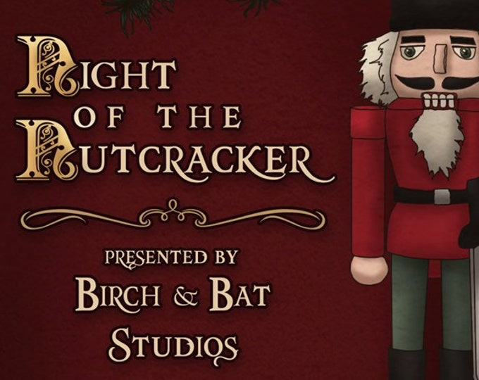 Night of the Nutcracker PDF - D&D 5e Tabletop RPG Adventure - Dungeons and Dragons - Christmas Holiday