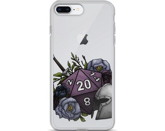 Fighter Class D20 iPhone Case - D&D Tabletop Gaming
