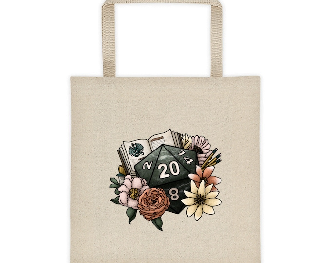 Dungeon Master D20 Tote bag - D&D Tabletop Gaming