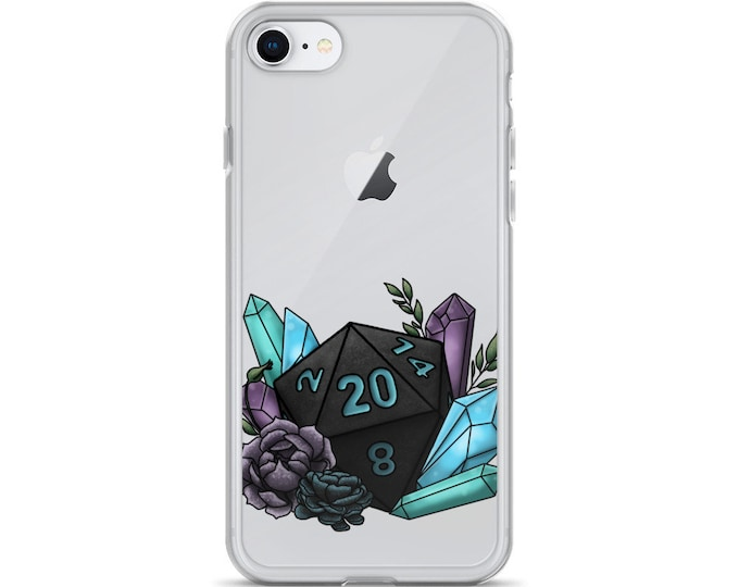 Mystic D20 - iPhone Case - D&D Tabletop Gaming