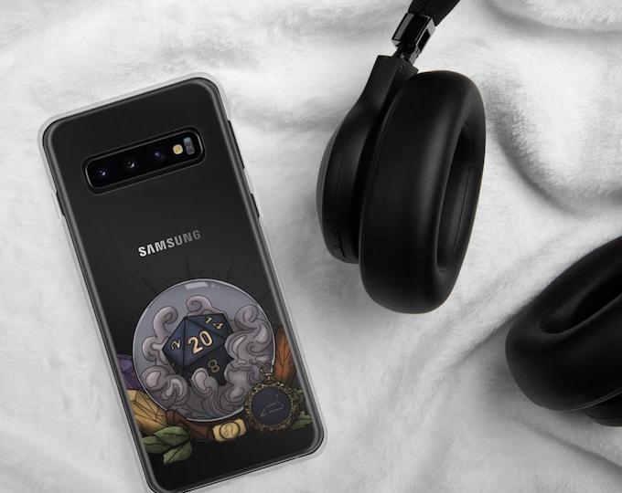 Leo D20 Samsung Case - D&D Tabletop Gaming - Zodiac