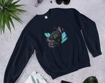 Mystic D20 - Sweatshirt - D&D Tabletop Gaming