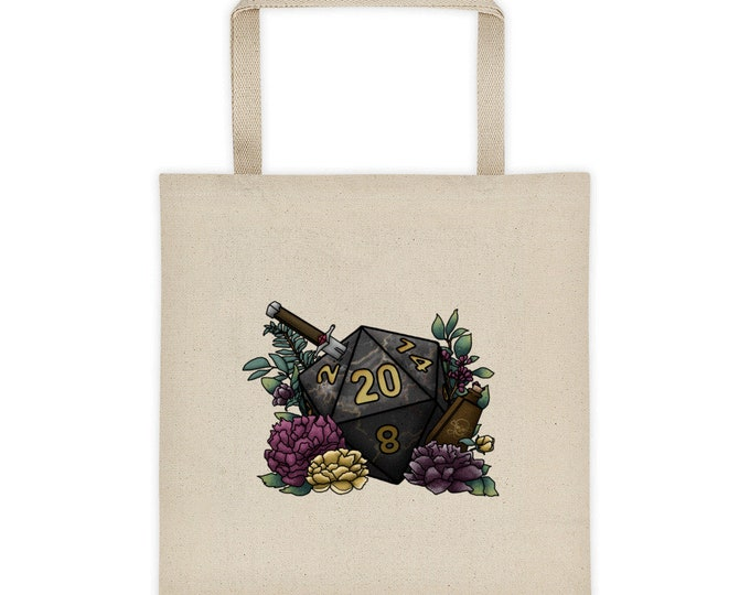 Assassin D20 - Tote bag - D&D Tabletop Gaming