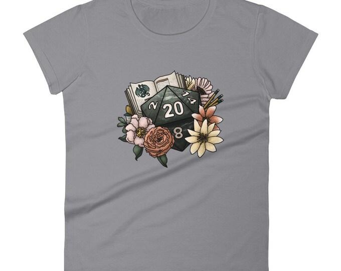 Dungeon Master D20 Women's short sleeve t-shirt - D&D Tabletop Gaming
