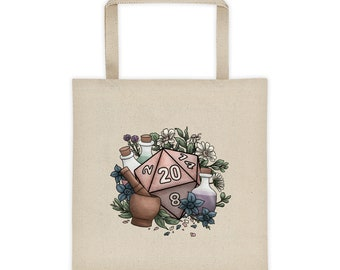 Alchemist D20 Tote bag - D&D Tabletop Gaming