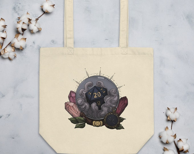 Taurus D20 Tote Bag - D&D Tabletop Gaming - Zodiac