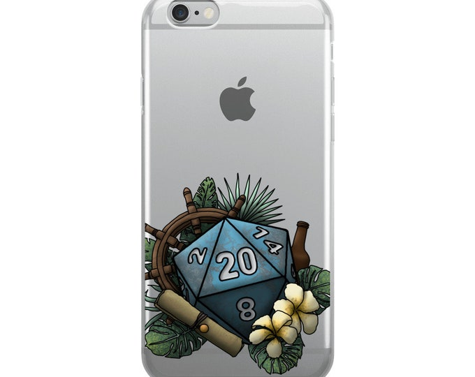 Seafaring D20 - iPhone Case - D&D Tabletop Gaming