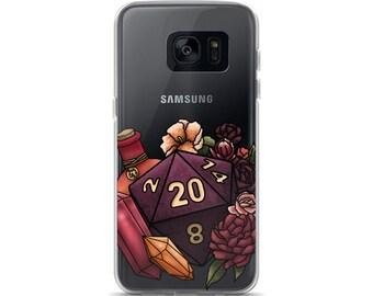 Sorcerer Class D20 Samsung Case - D&D Tabletop Gaming