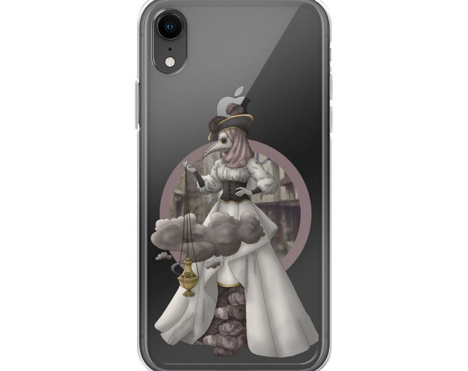 The Plague Doctor iPhone Case - D&D Tabletop Gaming - Blackfeather Boutique