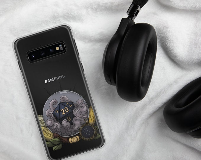 Gemini D20 Samsung Case - D&D Tabletop Gaming - Zodiac