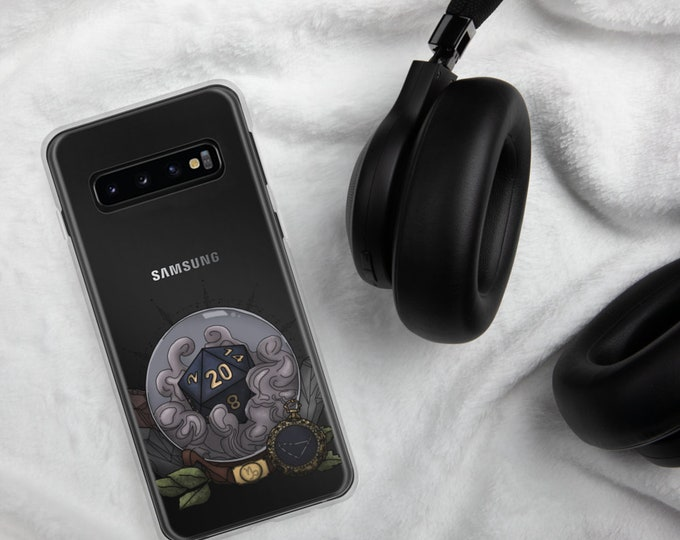 Capricorn D20 Samsung Case - D&D Tabletop Gaming - Zodiac