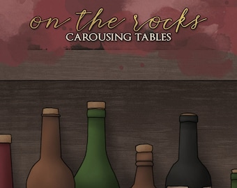 On The Rocks - A Carousing PDF - D&D 5e Tabletop RPG Supplement - Dungeons and Dragons