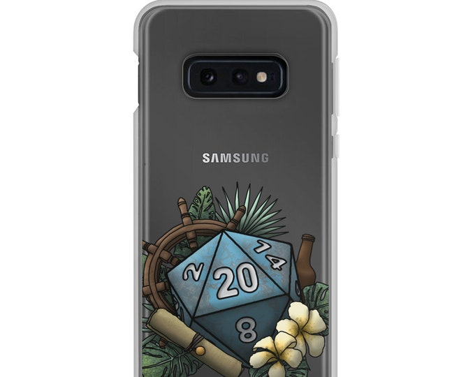 Seafaring D20 - Samsung Case - D&D Tabletop Gaming