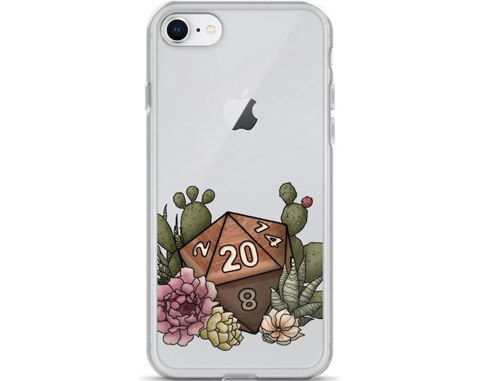Desert D20 - iPhone Case - D&D Tabletop Gaming