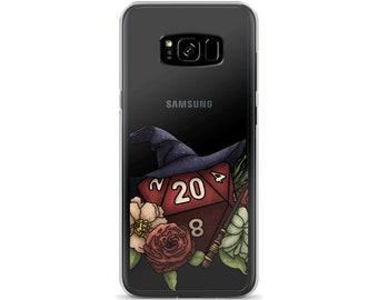Wizard Class D20 Samsung Case - D&D Tabletop Gaming
