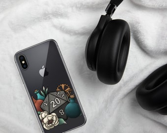 Artificer D20 - iPhone Case - D&D Tabletop Gaming