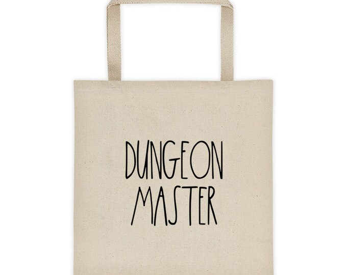 "Dungeon Master ""Simply Described"" Tote bag"