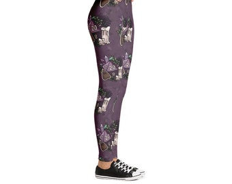 Witch Pattern D20 Leggings - D&D Tabletop Gaming