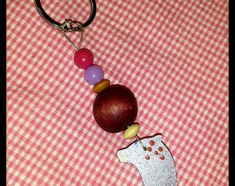 This Little Piggy Went To Market Key Chain