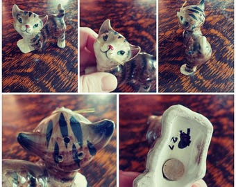 Vintage Kitty Ornament
