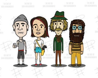 PRINT: Hipsters of Oz