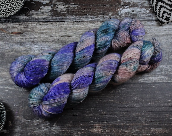 Donegal Tweed Sock Yarn - BFL - Paintbox