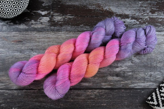 Silky Alpaca Fingering Weight, 4ply, Yarn - Alpacallusion
