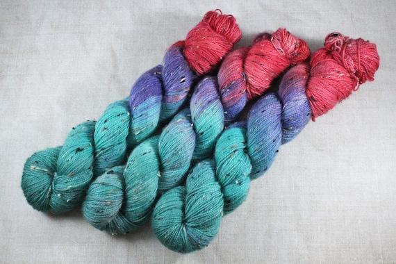 Donegal Tweed Sock Yarn - BFL - Ariel