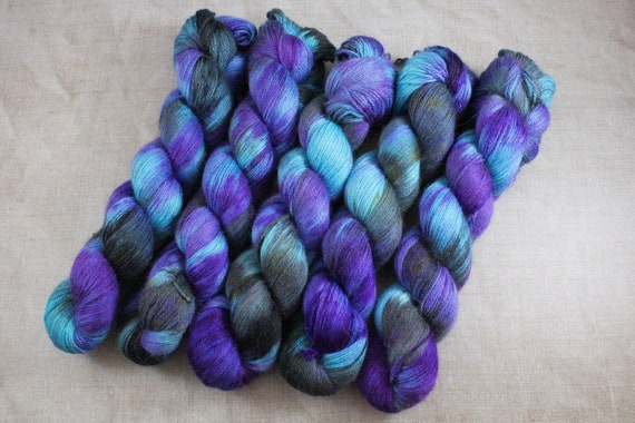 Silky Alpaca Fingering Weight, 4ply, Yarn - Stingray