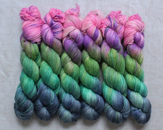 DK Yarn, Merino and Bamboo - Spring is coming