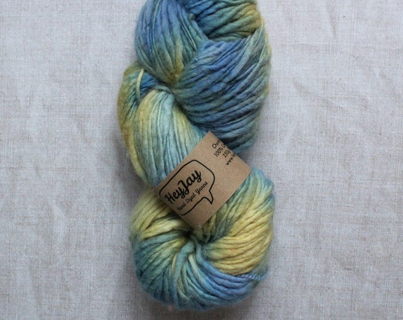 XL Hand Dyed Chunky Yarn, Yarn Beast, 250g - Get up and go