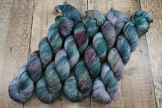 Donegal Tweed Sock Yarn - Merino/Nylon - Bounty Hunter