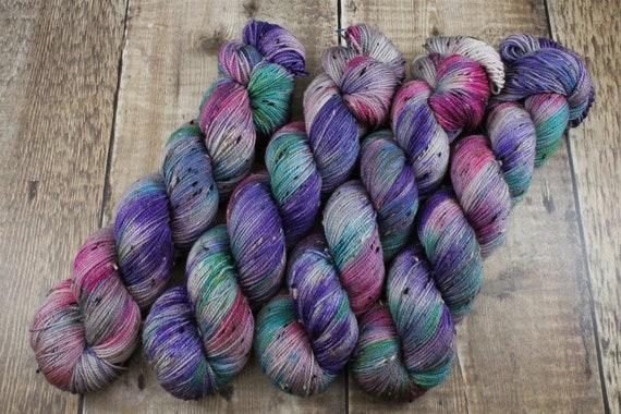 Donegal Tweed Sock Yarn - Merino/Nylon - Heart Shaped Box