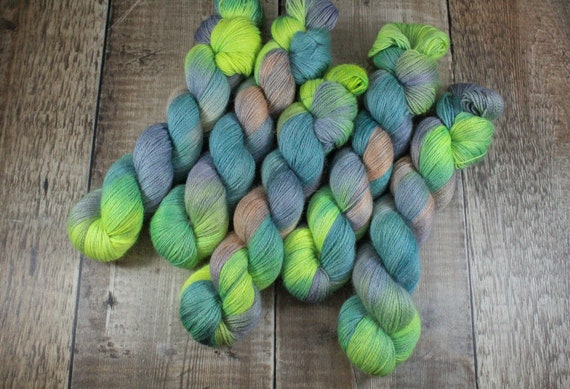 Silky Alpaca Fingering Weight, 4ply, Yarn - Swerve City