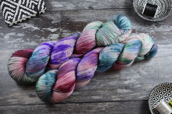 Ultimate Sock Yarn, BFL High Twist - Skater Boi