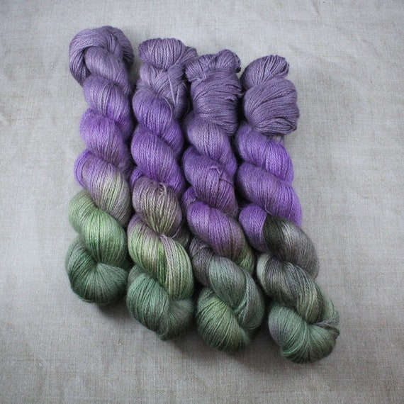 Silky Alpaca Fingering Weight, 4ply, Yarn - Watch Me Slay
