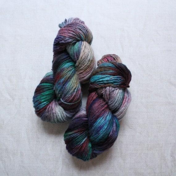 XL Hand Dyed Chunky Yarn, Yarn Beast, 250g - Bright Lights