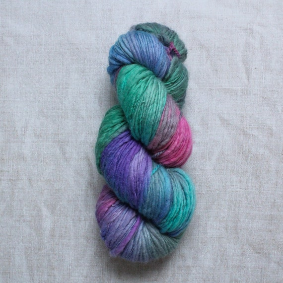 XL Hand Dyed Chunky Yarn, Yarn Beast, 250g - She's fierce