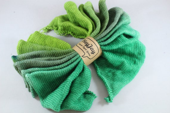 Hand Dyed Sock Blank, Sock Yarn, Superwash Merino/Nylon, 100g/425m