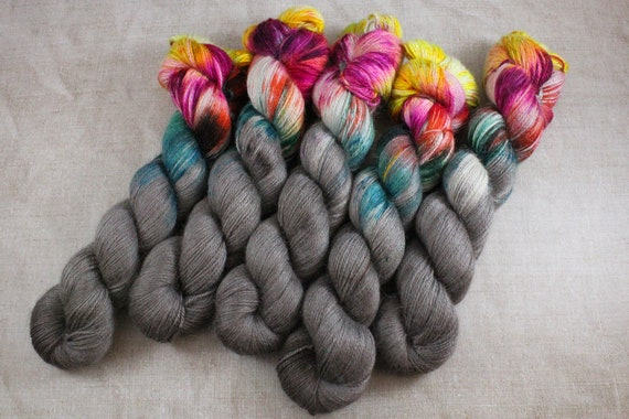 Silky Alpaca Fingering Weight, 4ply, Yarn - Paintbrush