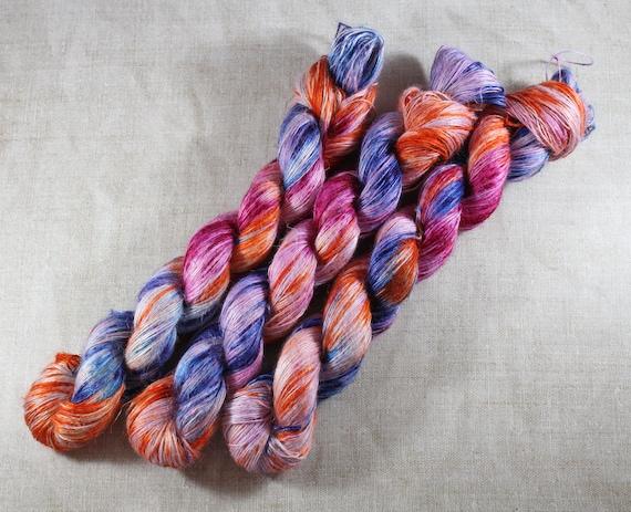 Hand Dyed Planty Yarn, Plant Yarn, Natural Fibres, Plant Based Yarn, 4ply Yarn, Fingering Weight Yarn - Pick n Mix