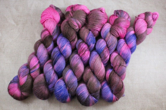 Silky Alpaca Fingering Weight, 4ply, Yarn - Wonka